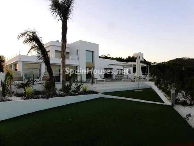 Casa en Ibiza vista principal - Lujosa villa en la isla de Ibiza, Baleares