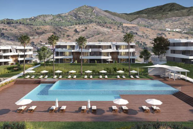 Comunidad 1 - Viviendas de lujo en Málaga cerca de la costa y campos de golf