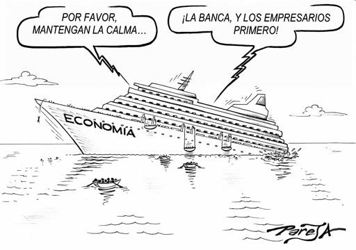 Los bancos primero