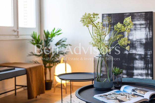 DECO BARCELONA - Este piso en venta en Barcelona con elementos de diseño únicos te enamorará