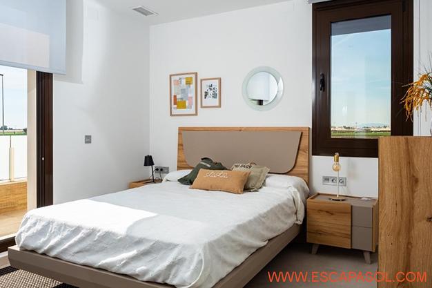 DORMITORIO 1 ALICANTE - Esta villa con piscina en Alicante a estrenar te espera para comenzar una nueva vida