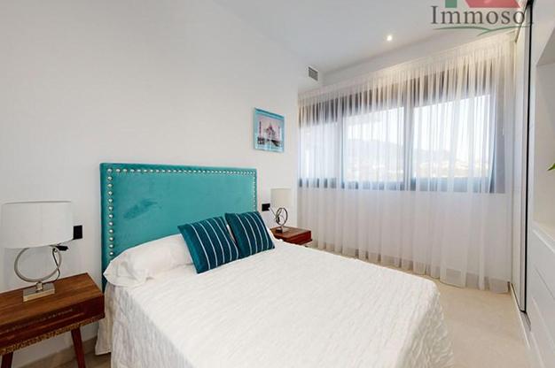 DORMITORIO 2 5 - La casa perfecta es esta villa de lujo en Benidorm con piscina, jardín, solarium y mucho más
