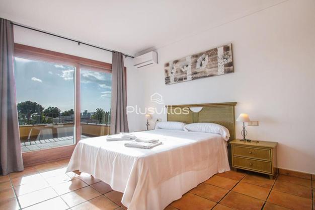 DORMITORIO 2 CALPE - Encuentra tu nuevo hogar en este chalet de lujo en Alicante
