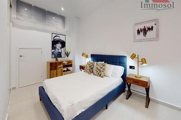 DORMITORIO 3 1 - La casa perfecta es esta villa de lujo en Benidorm con piscina, jardín, solarium y mucho más