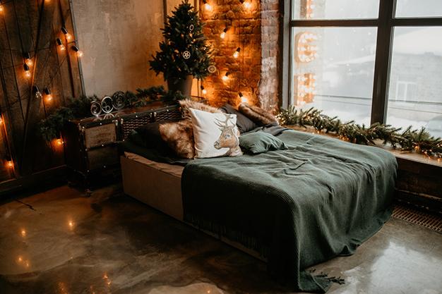 DecoNavidad dormitorio - Ideas para decorar la casa en Navidad de forma original