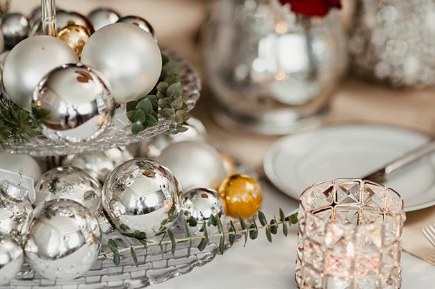 DecoNavidad centromesa - Ideas para decorar la casa en Navidad de forma original