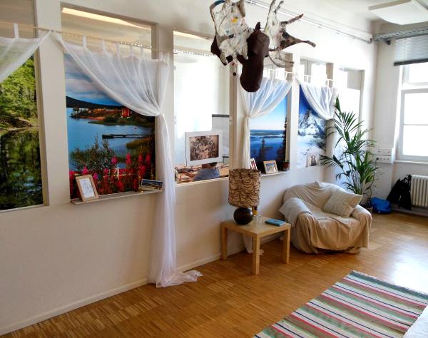 Decoración hogareña de oficinas1 - Las oficinas de eDarling se cubren de colores y creatividad