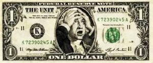 Benjamin Franklin escandalizado