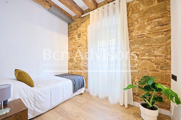 Dormitorio individual atico lujo Barcelona - Este precioso ático de lujo en Barcelona puede ser tu próximo hogar en la Ciudad Condal