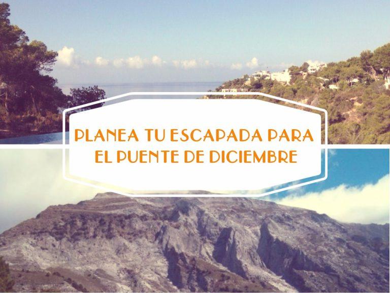 Desde la Sierra Blanca hasta las Islas Canarias ¡Planea tu escapada para el puente de diciembre!