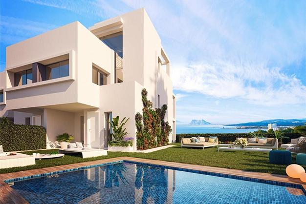 Exclusiva casa con piscina en la Costa del Sol - Exclusiva casa con piscina en la Costa del Sol