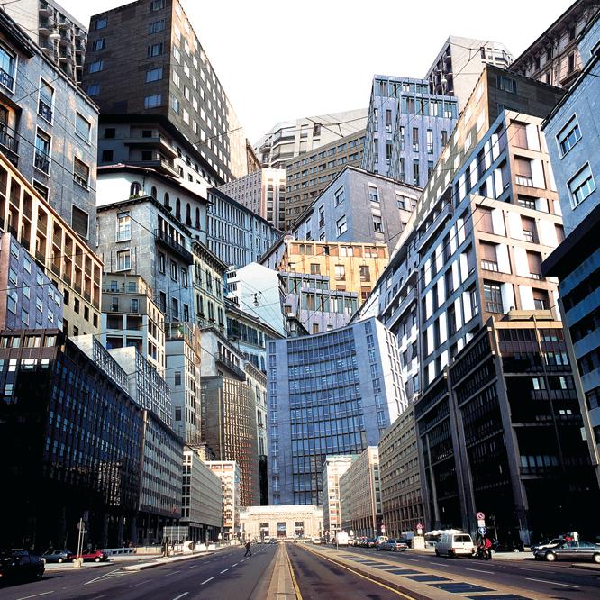 Fotomontaje identidad megalopolis - Megaciudades: el desafío de la convivencia