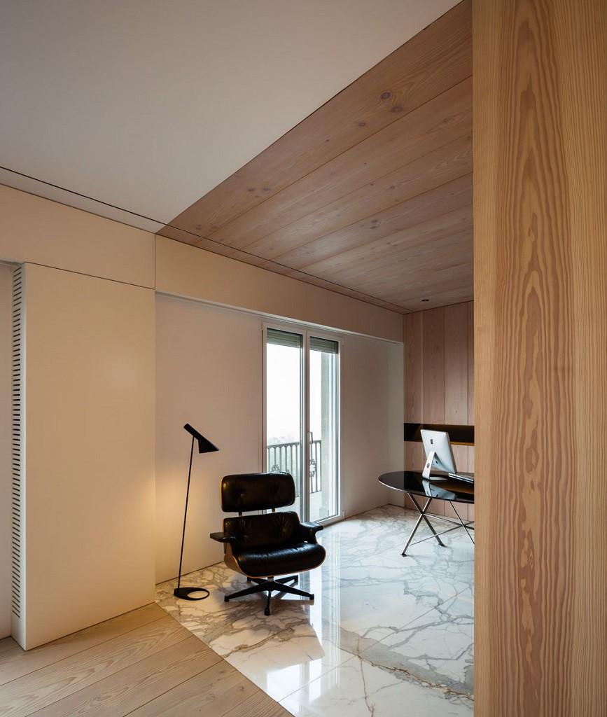 FrancéscRifé zonatrabajo 867x1024 - Fantástico y moderno ático en Sevilla de elegante y cálido diseño minimalista