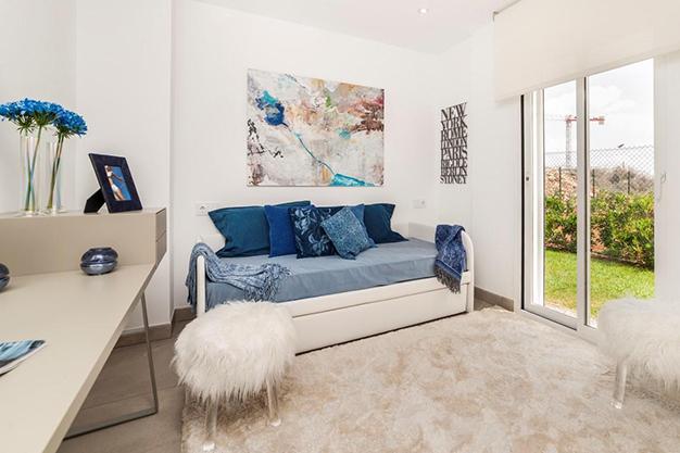 IMAGEN DORMITORIO 2  - Personaliza tu nuevo hogar: Villas de lujo en Mallorca de nueva construcción