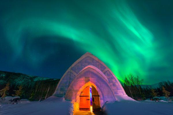 Igloo Under The Aurora VW 600x400 - Los mejores hoteles para los verdaderos amantes del invierno