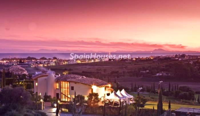 Increíble paisaje - La Casa de la Semana, villa de lujo en Marbella