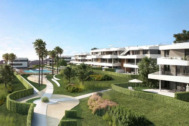 Jardines 1 - Viviendas de lujo en Málaga cerca de la costa y campos de golf