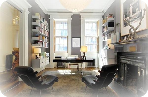 Luminoso despacho - Julianne Moore vende su apartamento del West Village