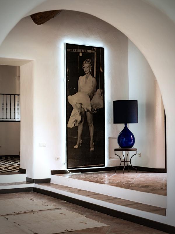 """MarianneTiegen detalleinterior - Preciosa casa con un armonioso y cálido ambiente """"chill out"""" en Cala D´Hort, Ibiza"""