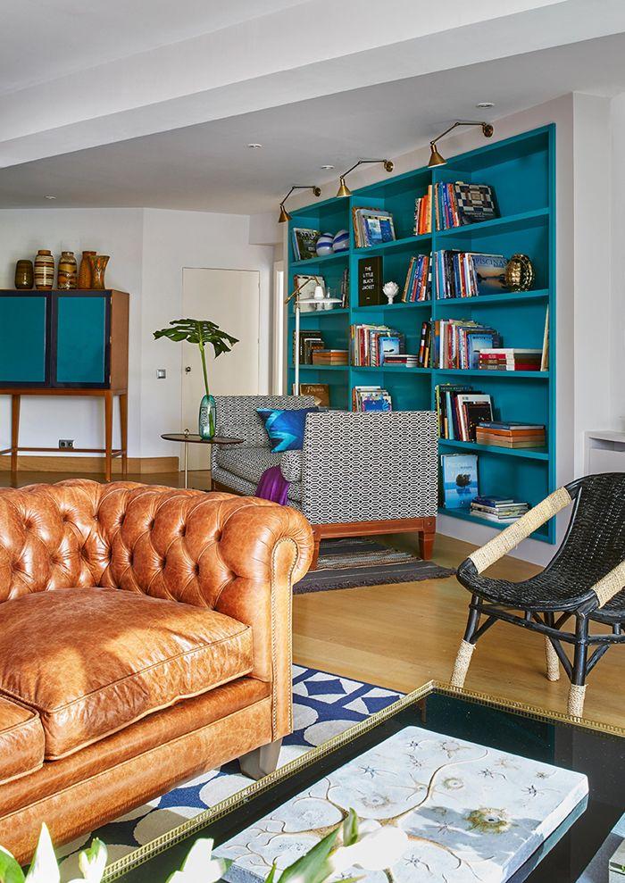 Melian Randolph Biblioteca 2 - Precioso piso con intensos toques de estilo y color en Chamartín, Madrid