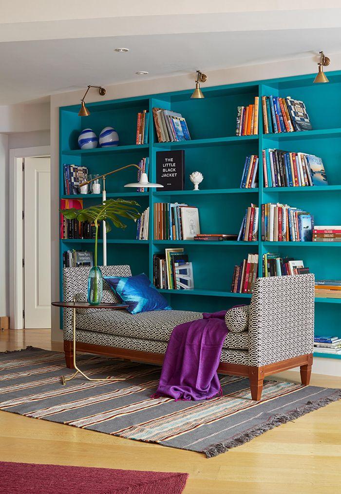 Melian Randolph Biblioteca - Precioso piso con intensos toques de estilo y color en Chamartín, Madrid