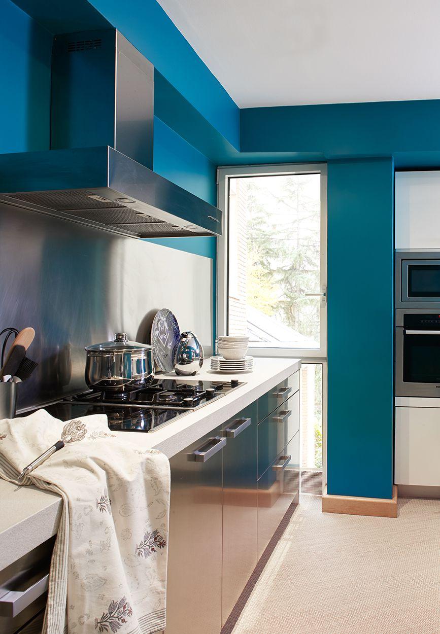 Melian Randolph Cocina 2 - Precioso piso con intensos toques de estilo y color en Chamartín, Madrid
