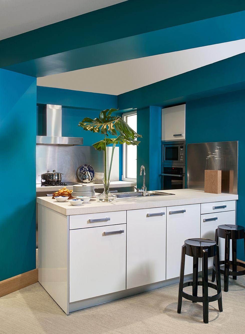 Melian Randolph Cocina - Precioso piso con intensos toques de estilo y color en Chamartín, Madrid