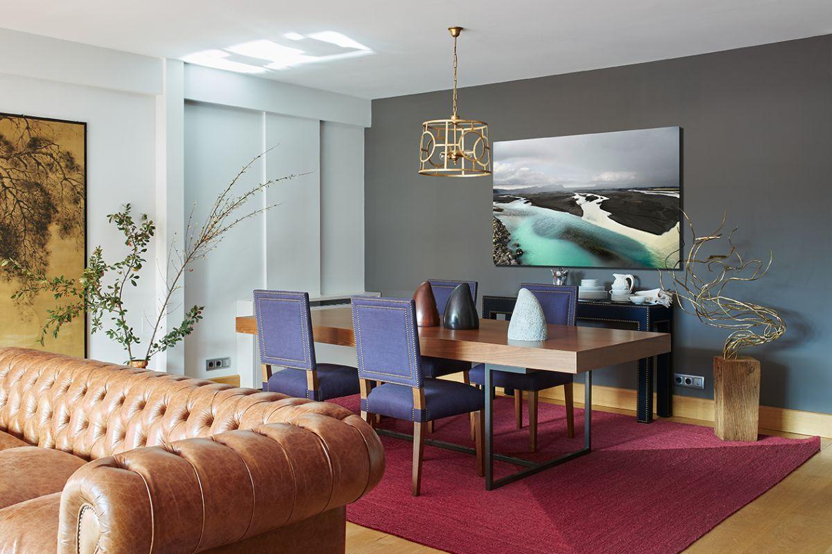 Melian Randolph Comedor - Precioso piso con intensos toques de estilo y color en Chamartín, Madrid