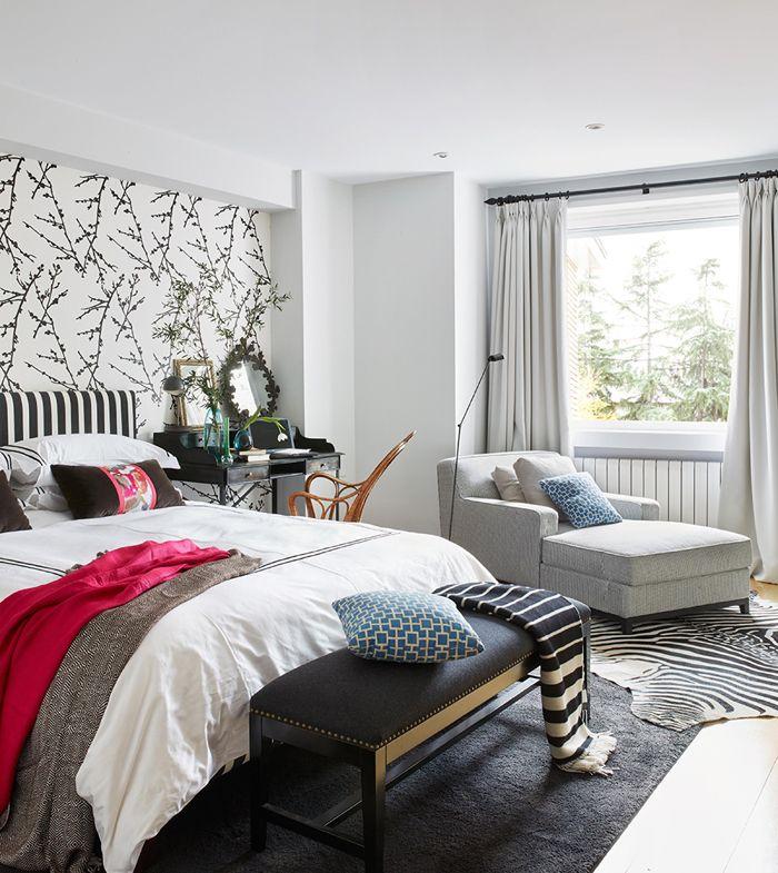 Melian Randolph Dormitorio - Precioso piso con intensos toques de estilo y color en Chamartín, Madrid