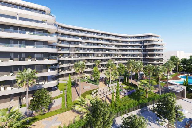 Moderno apartamento en Malaga primera linea de playa - Moderno apartamento en Málaga, primera línea de playa