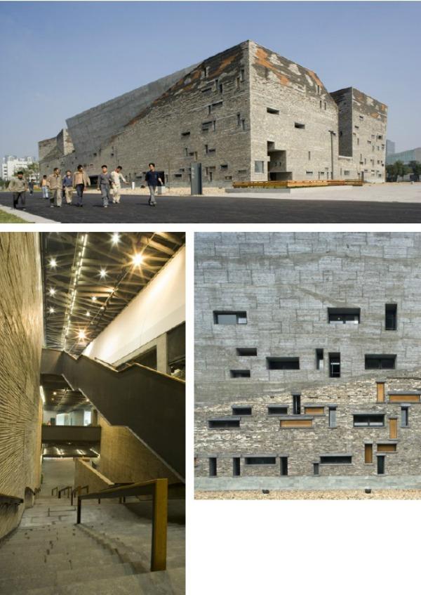 Museo de Historia del Arte en Ningbo b - Recorrido por la arquitectura del Pritzker Wang Shu