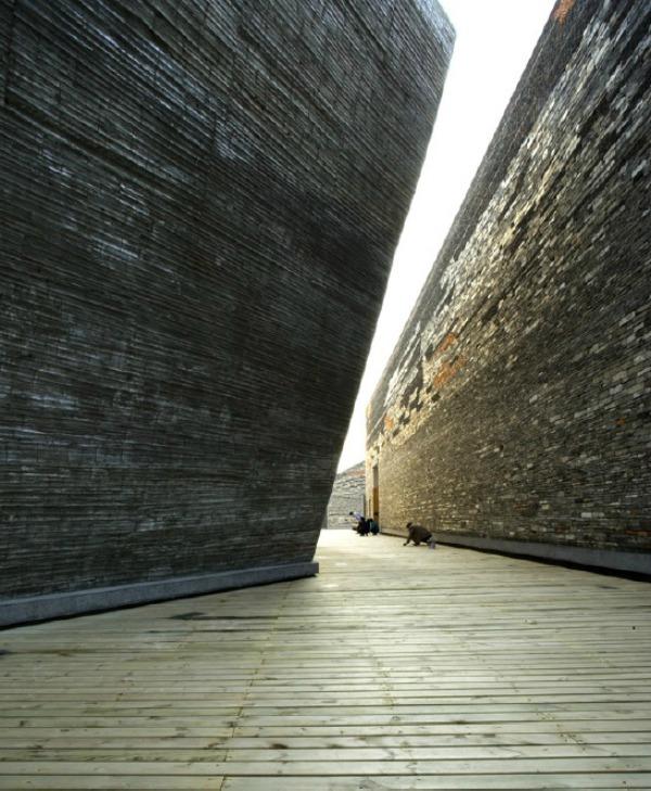 Museo de Historia del Arte en Ningbo c - Recorrido por la arquitectura del Pritzker Wang Shu