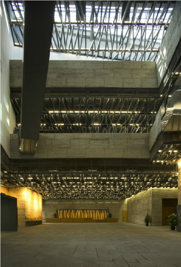 Museo de Historia del Arte en Ningbo d - Recorrido por la arquitectura del Pritzker Wang Shu