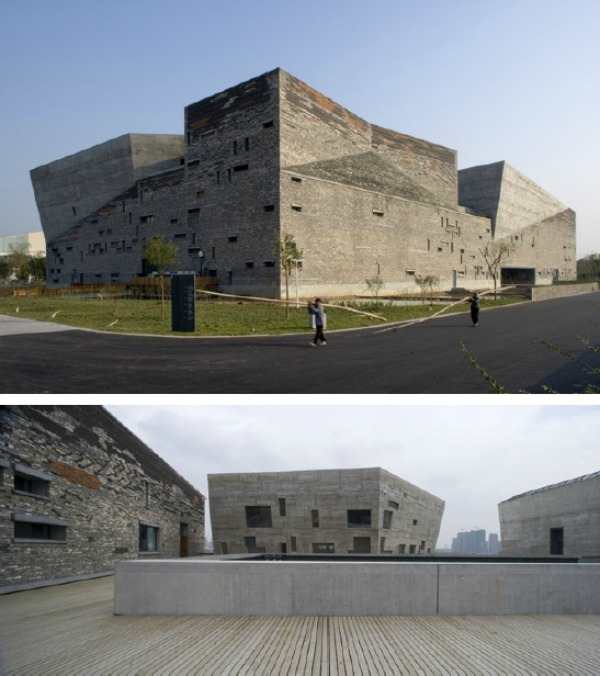 Museo de Historia del Arte en Ningbo - Recorrido por la arquitectura del Pritzker Wang Shu