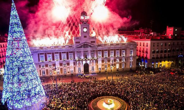 Noche vieja Madrid 600x360 - Destinos increíbles para despedir el 2017 y pasar una nochevieja diferente
