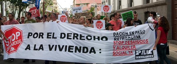 PAH Canarias - Las propuestas de PAH Tenerife serán estudiadas para la nueva Ley de Vivienda