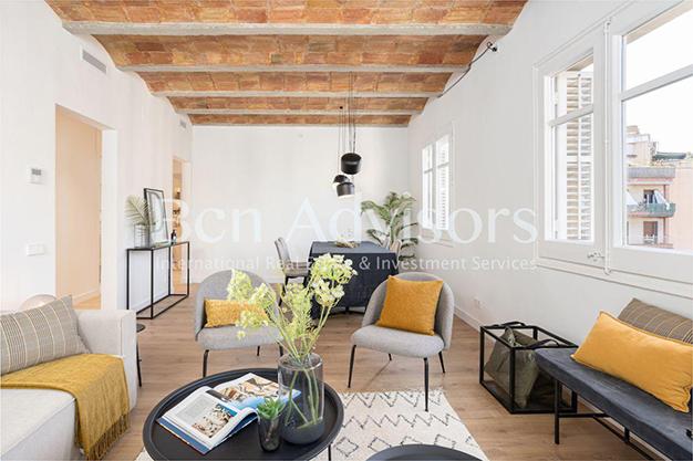 PANORAMICA BARCELONA - Este piso en venta en Barcelona con elementos de diseño únicos te enamorará