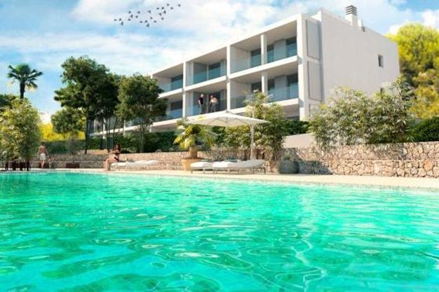 PISCINA IBIZA 2 - Si buscas vistas al mar, este apartamento de lujo en Ibiza te va a encantar