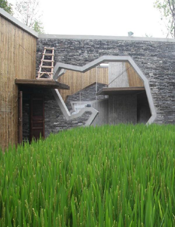Pabellón de Ningbo Tengtou en Shanghai Expo b - Recorrido por la arquitectura del Pritzker Wang Shu