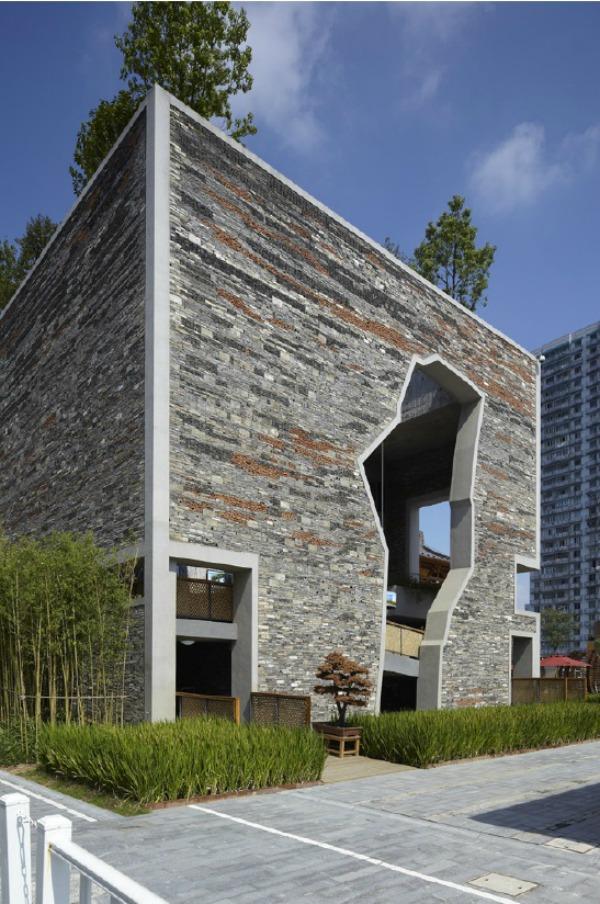 Pabellón de Ningbo Tengtou en Shanghai Expo - Recorrido por la arquitectura del Pritzker Wang Shu