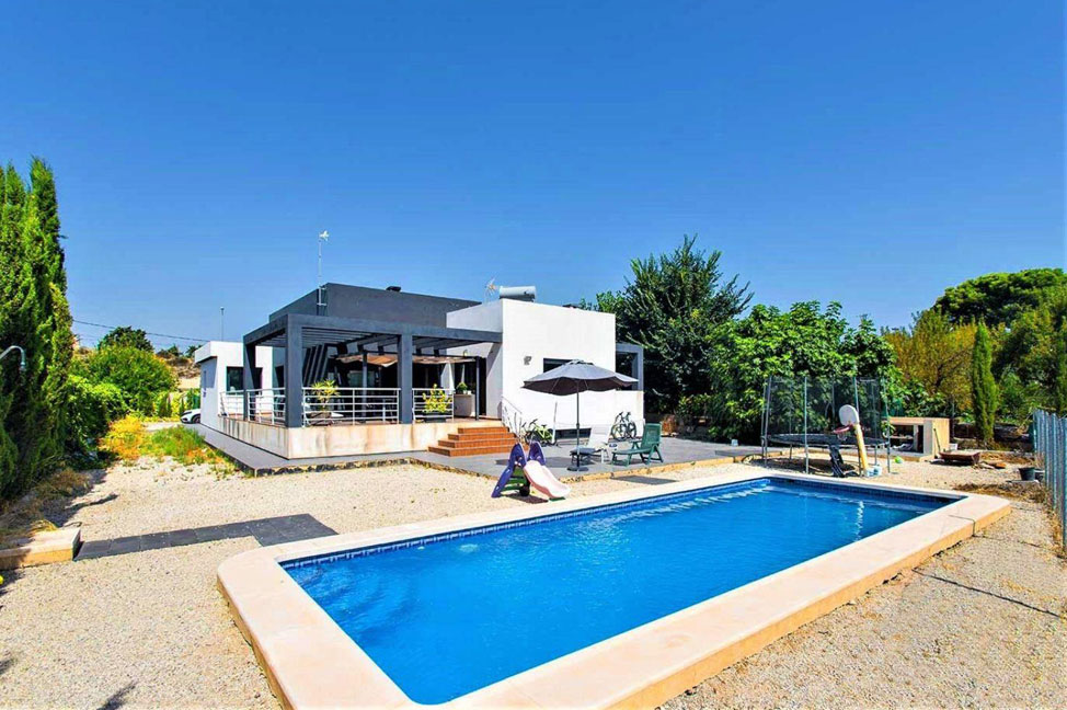 Piscina 37 - Disfruta de los jardines, piscina y tranquilidad de esta casa individual en Alicante