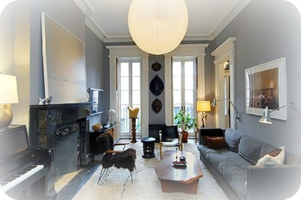 Precioso salon - Julianne Moore vende su apartamento del West Village