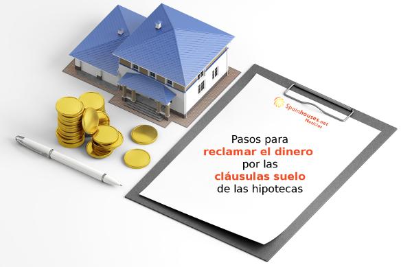 Reclamar dinero por cláusulas suelo de hipoteca