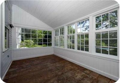Renee Zellwegers CT house sunroom - Renèe Zellweger vende su casa