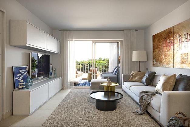 SALON MALLORCA 1 - Oportunidad única: exclusivo apartamento en Mallorca a 500 metros de la playa