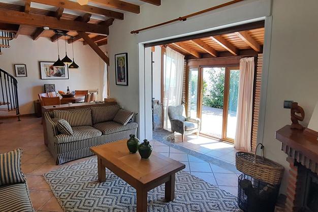 SALON SAYALONGA - Despierta cada día con vistas al mar y la montaña en esta villa de campo en Málaga