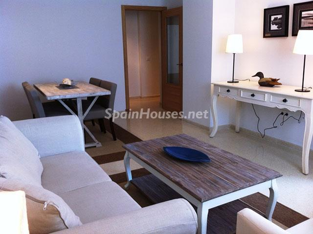 Salón piso en venta en Fuengirola