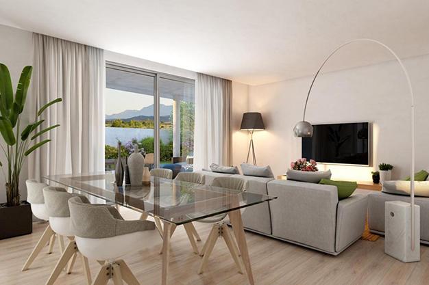 Salon comedor malaga - Este piso de lujo en Málaga te atrapará por su diseño moderno y atractivo