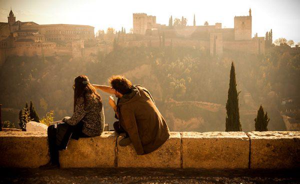 San Nicolas Granada alhambra a 600x368 - Los destinos españoles más románticos para tu escapada de San Valentín