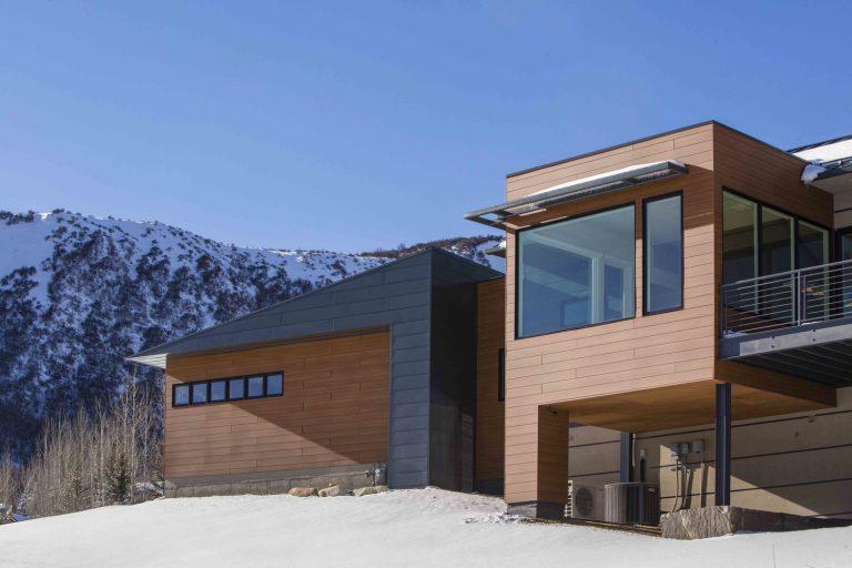 El refugio perfecto para disfrutar de la nevada montaña de Colorado